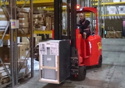 AC VNA Forklift Truck Supplers