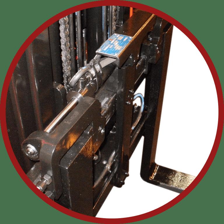 Hydraulic Fork Positioner