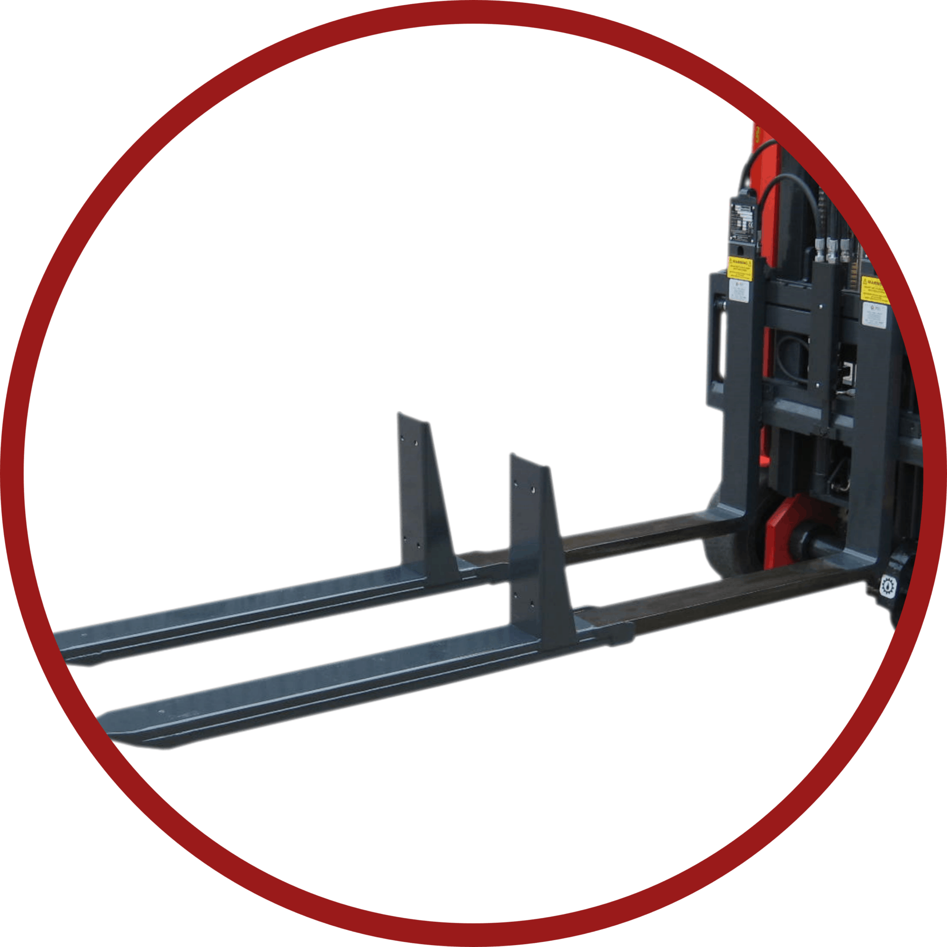 Two Pallet Telescopic Forks